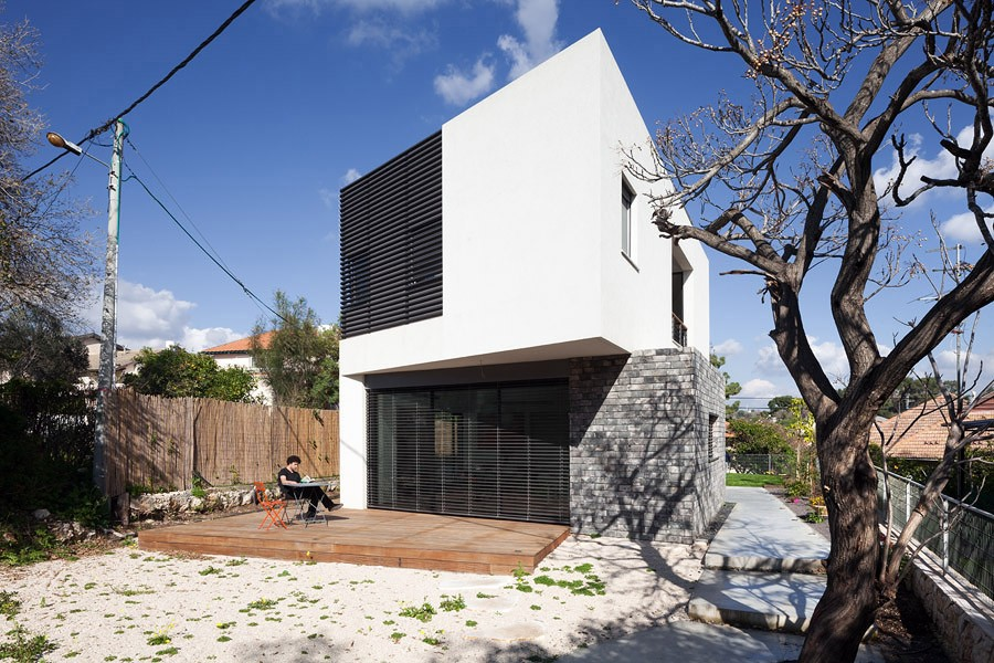 wo house israel residence e architect