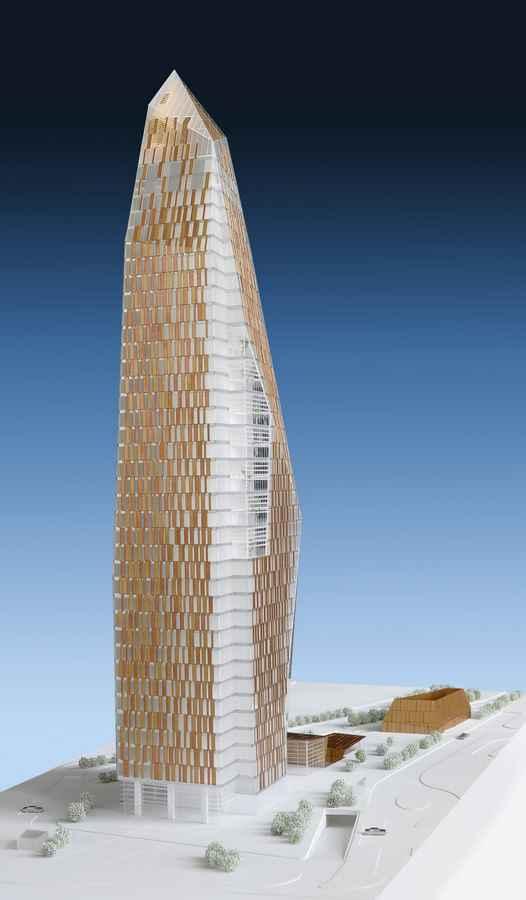 Renaissance Tower Istanbul Skyscraper In Turkey E Architect