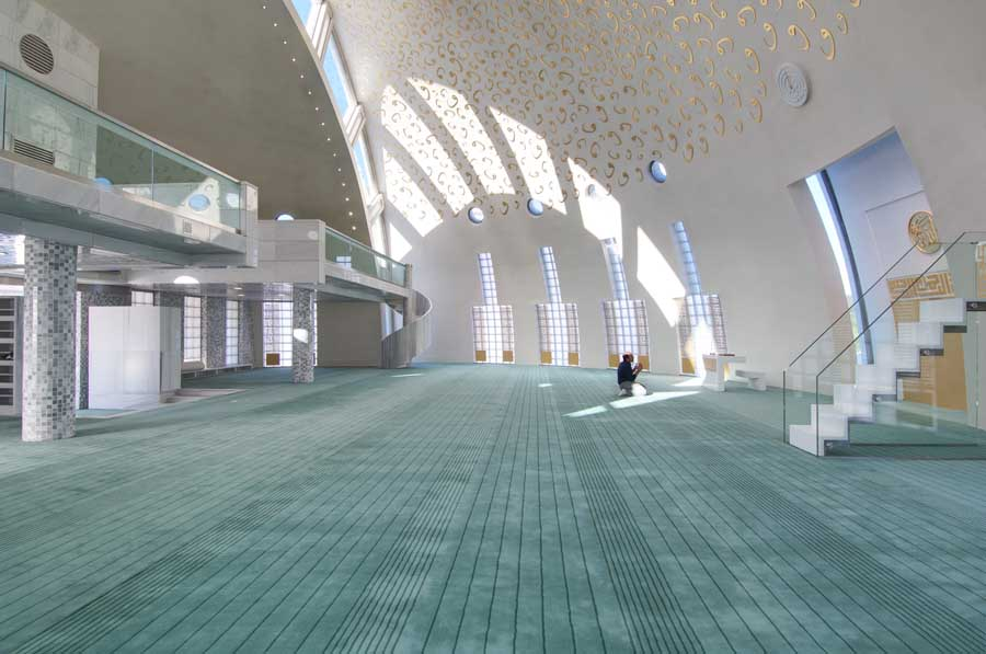 Yesil Vadi Mosque Istanbul Building Turkey E Architect