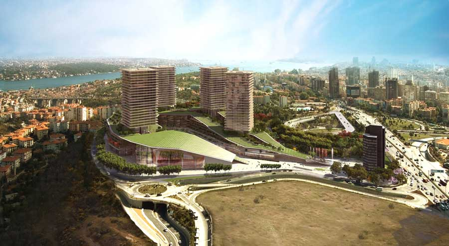 Zorlu Center Istanbul Building Turkey Eaa Emre Arolat E Architect