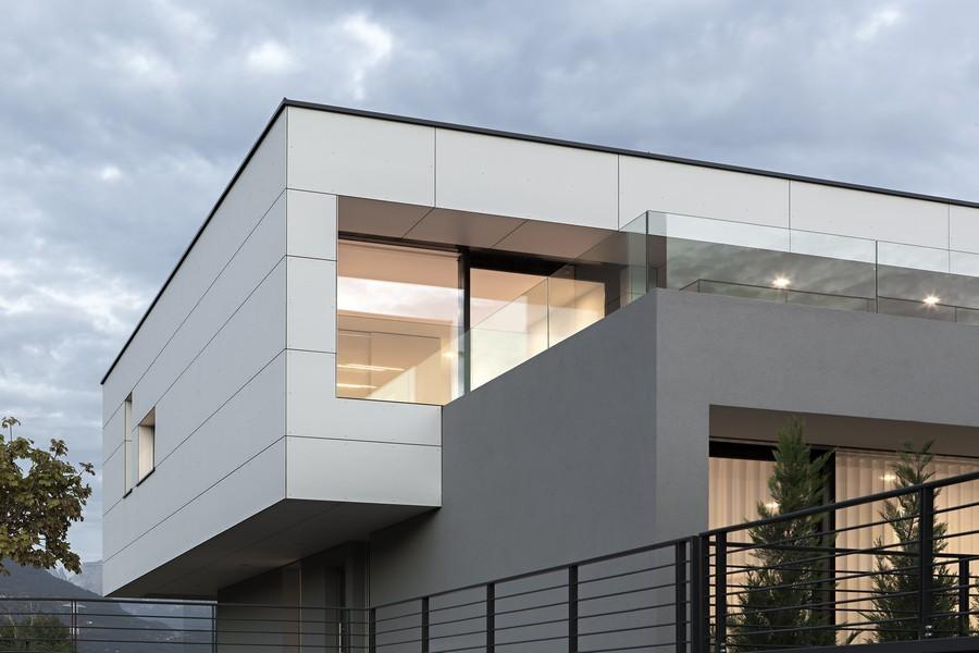 House in bozen klimahouse a e architect for Piani casa sul tetto di bassa altezza