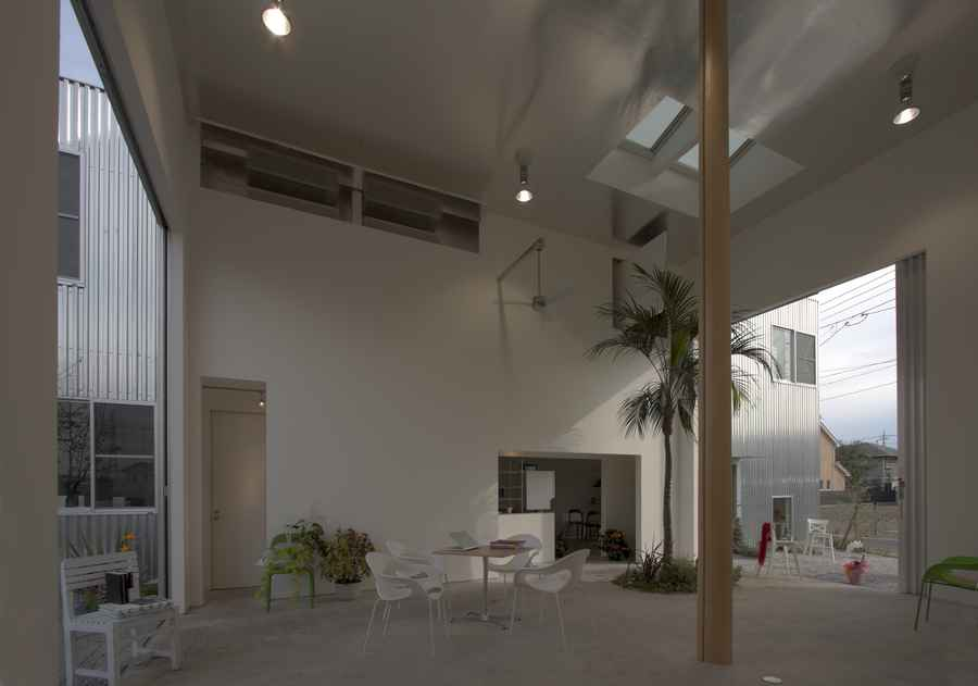 Ikimono Architects Takashi Fujino Airy House Japan Casa Design