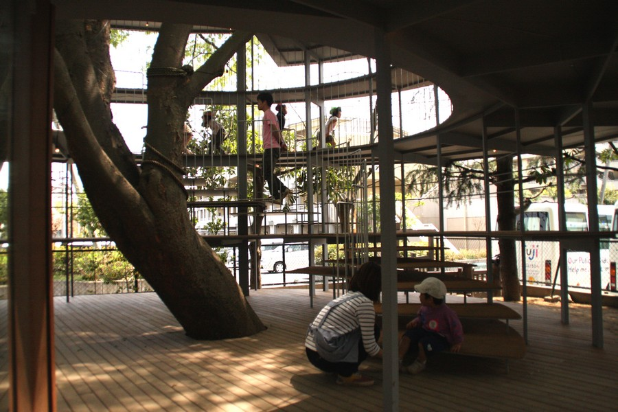 Ring Around A Tree Fuji Kindergarten Japan E Architect