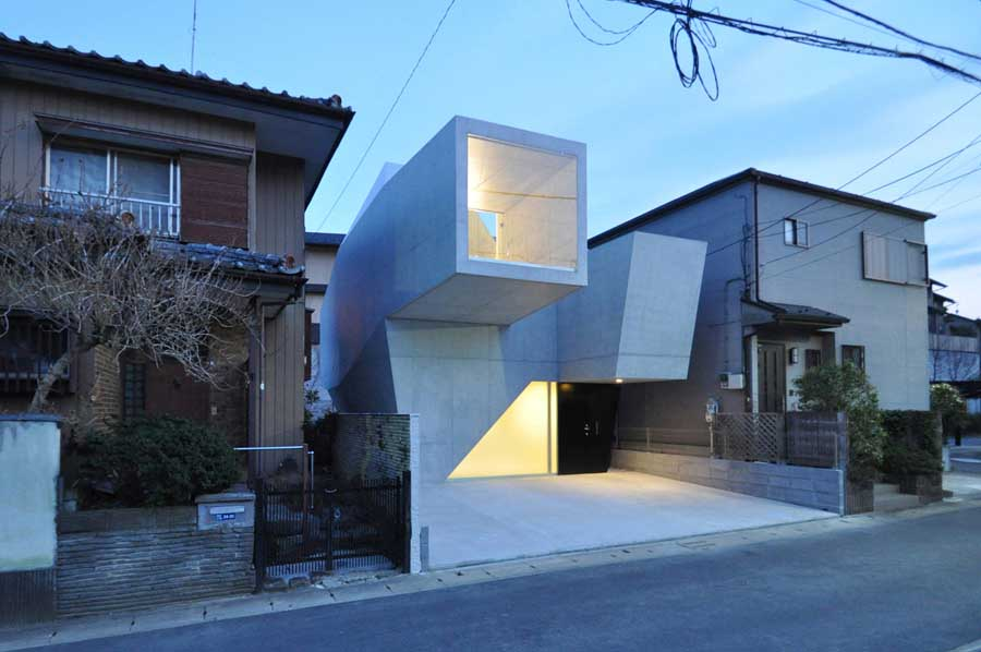 House in Abiko Japanese Houses New
