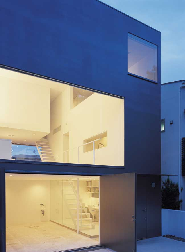 Tokyo houses japan homes property e architect for Couture house