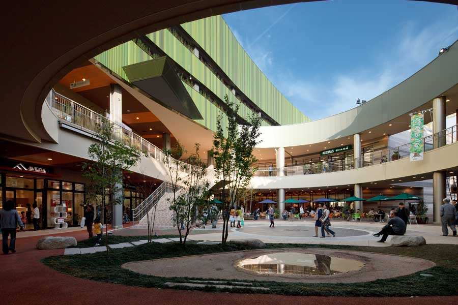 Konoha Mall Hashimoto Japanese Shopping Centre E Architect