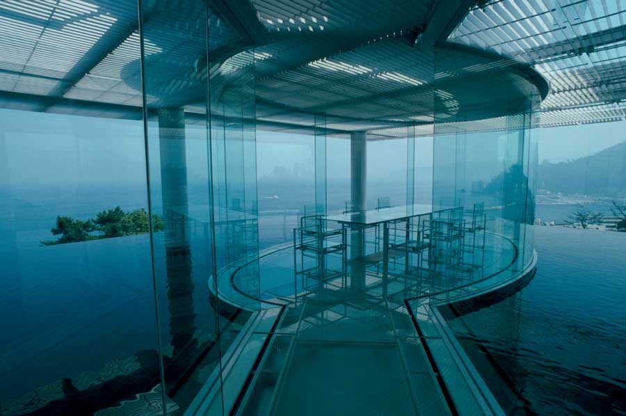 Contemporary japanese buildings japan e architect for Water in japanese