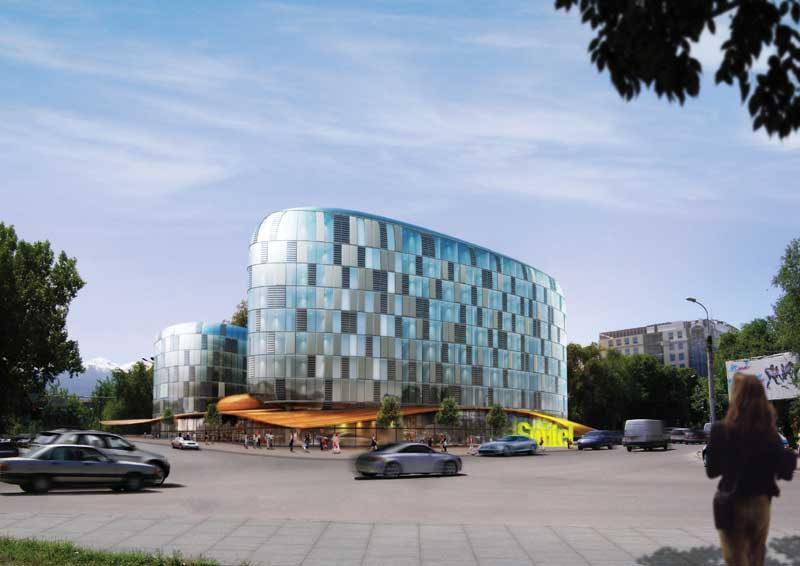 Almaty sofitel hotel kazakhstan building e architect for Office design kazakhstan