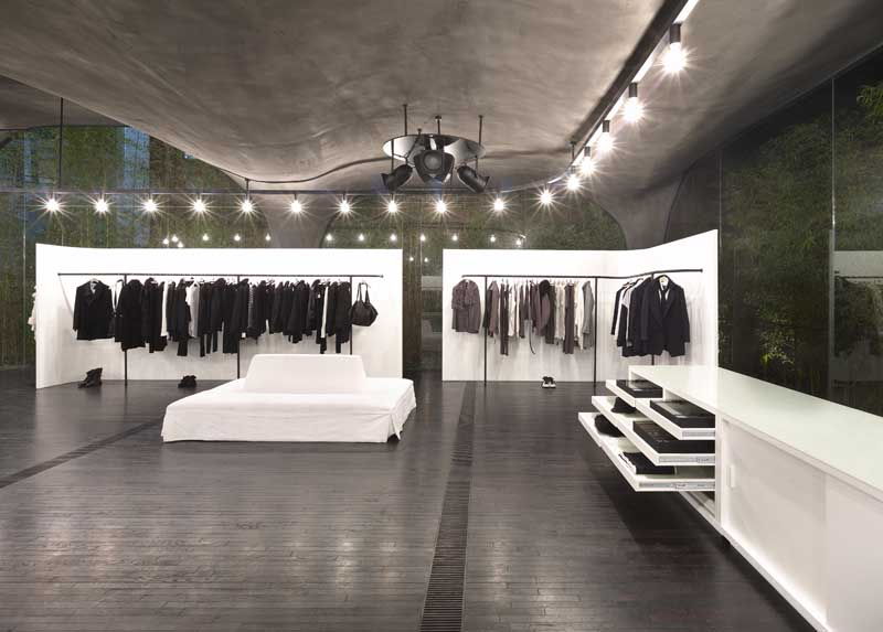 ann demeulemeester shop seoul store korean shop e architect