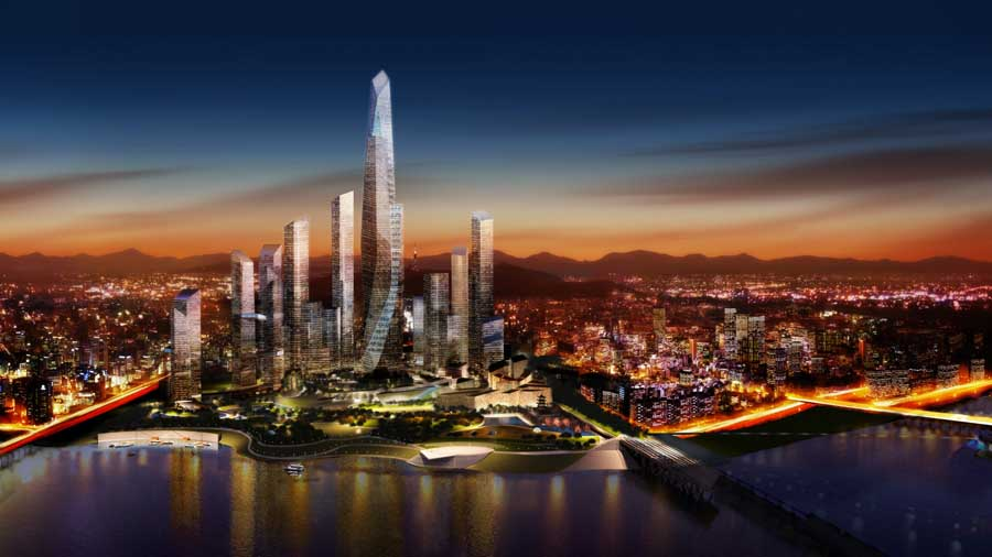 Yongsan Residential Towers The Cloud Seoul E architect