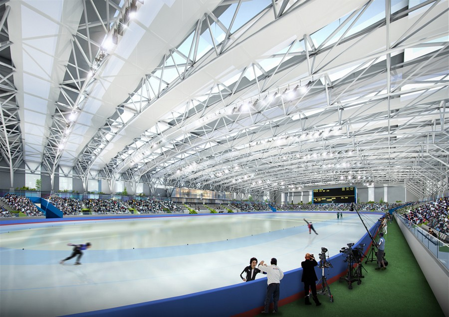 Kangneung Speed Skating Arena Amp Sports Complex E Architect