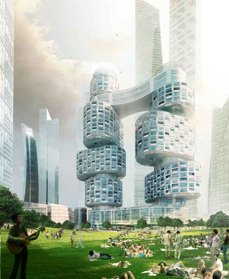 Asymptote Architecture Velo Towers Korea