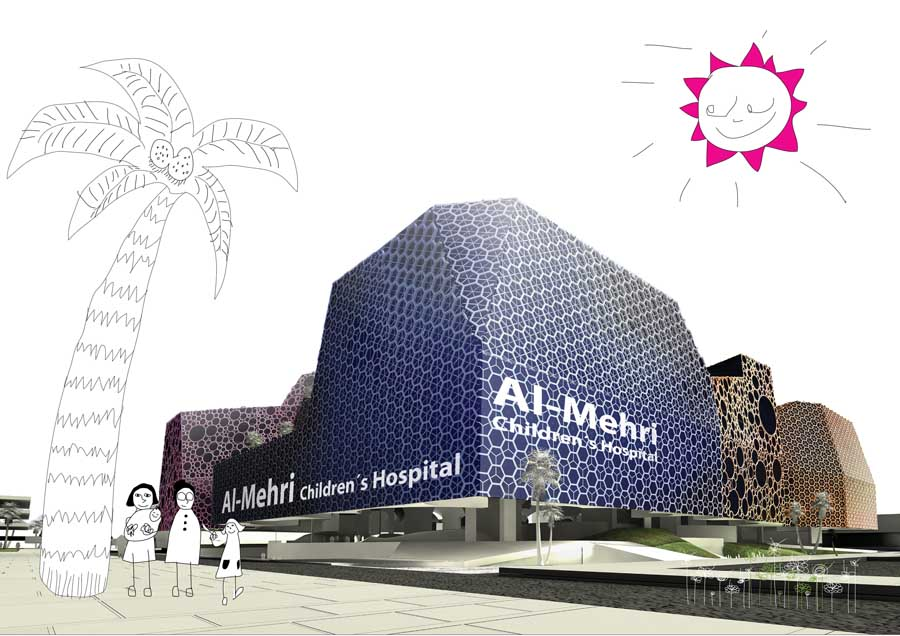 Kuwait Children's Hospital, AGi architects, Design - e-architect