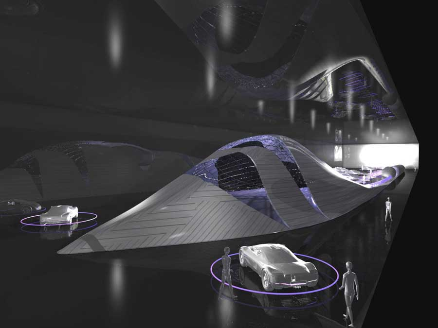TOYOTA Exhibition Pavilion Kuwait Building Architect
