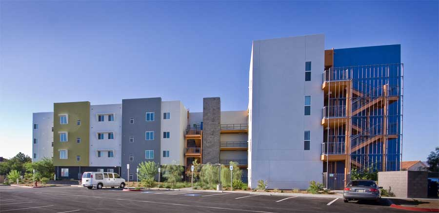 Senior Housing in Henderson, Nevada Building - e-architect