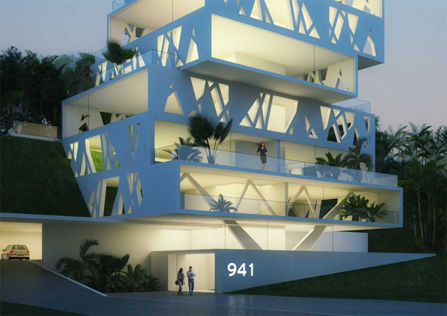 The Cube Building Beirut – design by Orange Architects