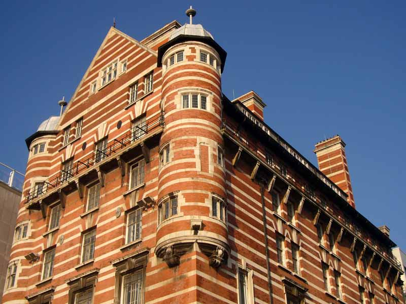 white star line liverpool - building