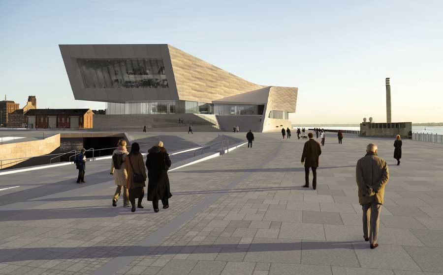 New Liverpool Architecture – design by 3XN, Denmark
