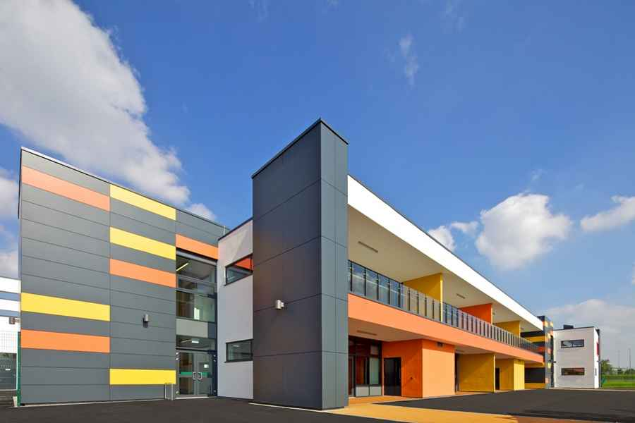 Park brow community primary school kirkby building e for Architect education