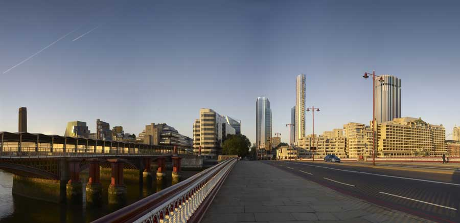 20 Blackfriars Southwark Tower Building E Architect
