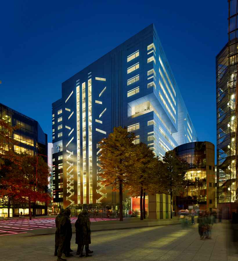5 Broadgate Development Ubs London Office Headquarters