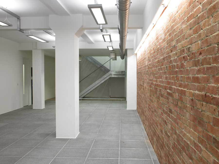 Ground Floor Elevation View : Great eastern street new hoxton building e architect
