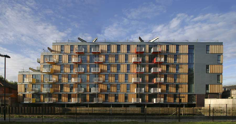 Adelaide wharf london hackney building e architect for Adelaide residential architects