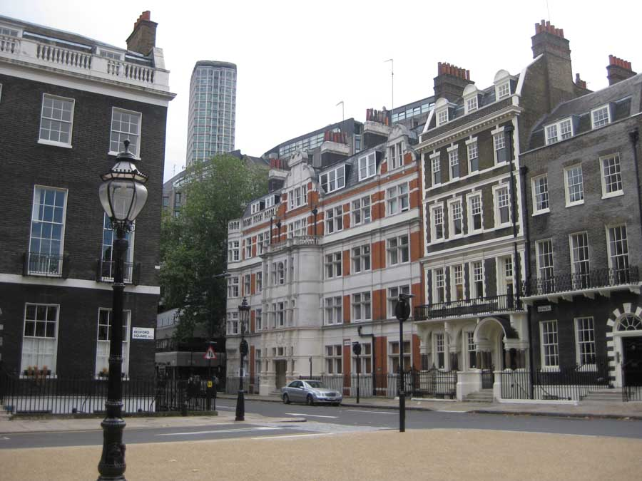 bedford square buildings georgian architecture london