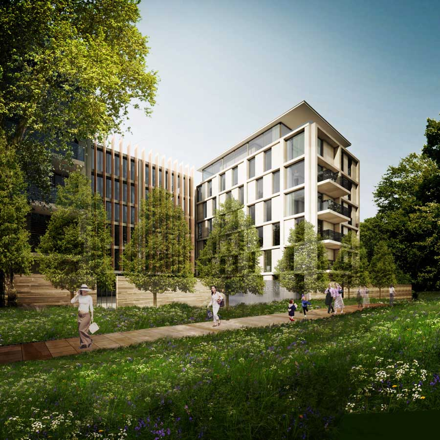 Campden Hill, Holland Park Apartments