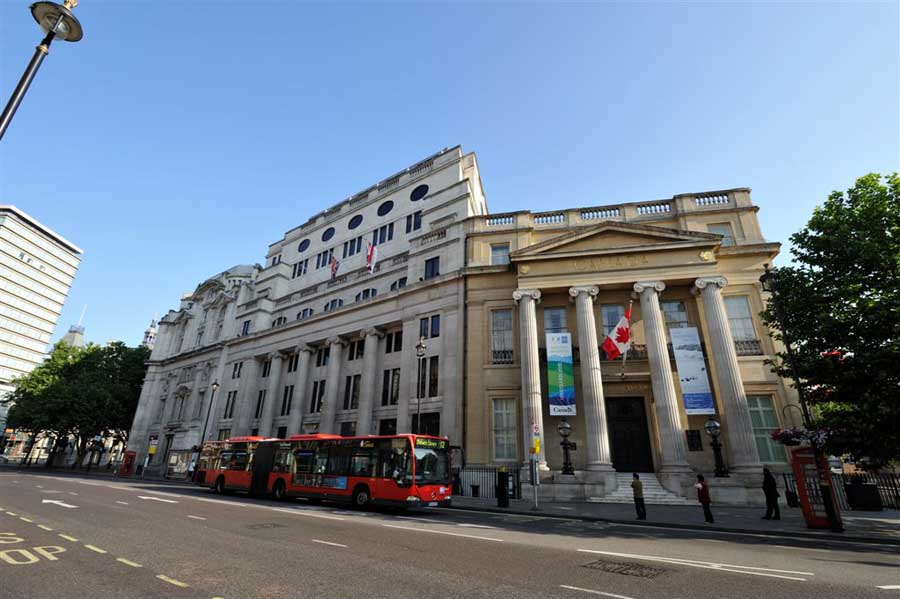 Canada house london building high commission e architect Canada house