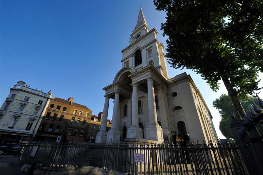 Christ Church Spitalfields Hawksmoor London Building E