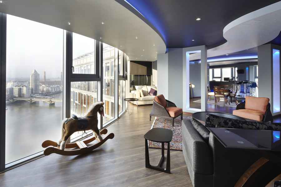 Falcon Wharf River Thames Penthouse Property E Architect