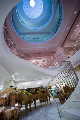 Fortnum mason london store piccadilly shop e architect - Interior design colleges in london ...