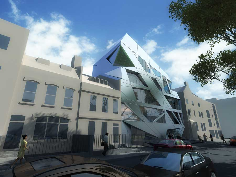 Hoxton square zaha hadid london building e architect for Architecture londres