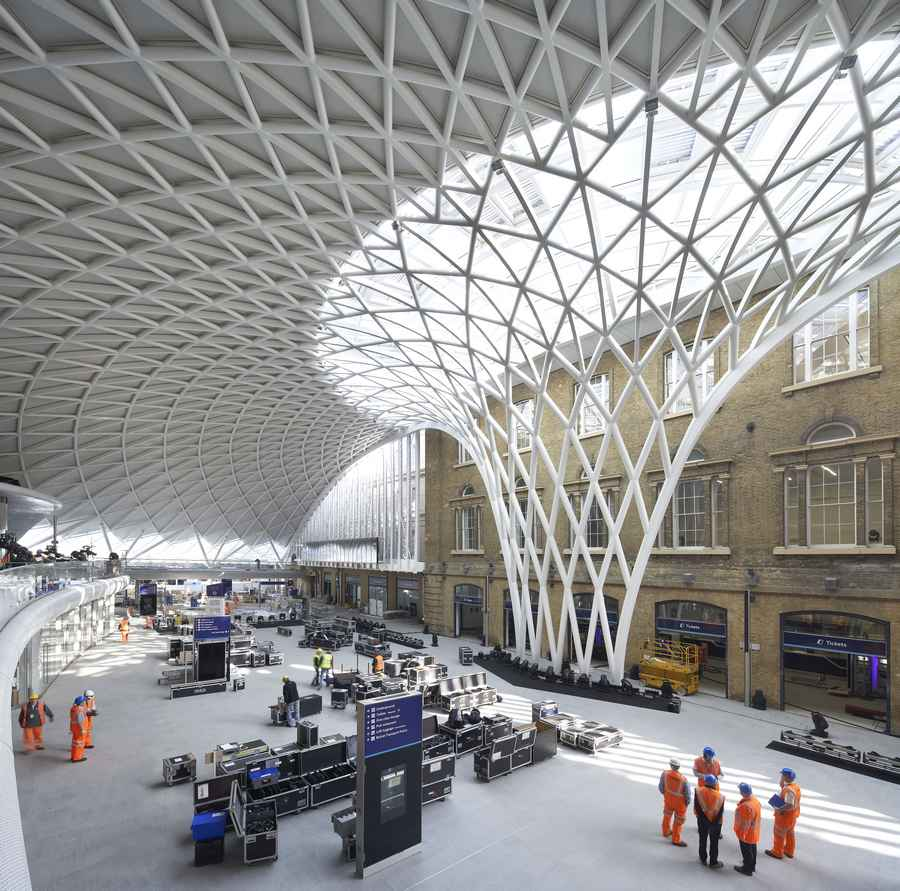 kings cross station london western concourse e architect. Black Bedroom Furniture Sets. Home Design Ideas