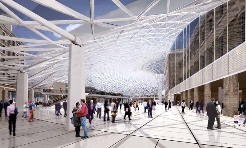 Kings Cross Station London Western Concourse E Architect
