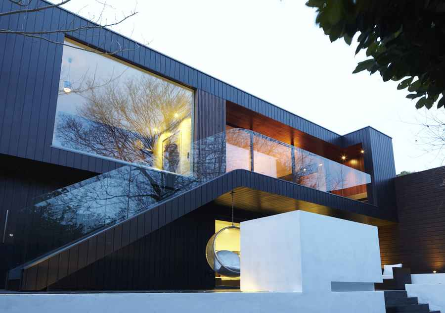 Kingsley place house highgate property e architect for Modern architecture house london