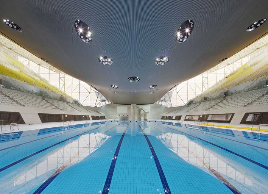 London Aquatics Centre Olympics Pool By Zaha Hadid E Architect