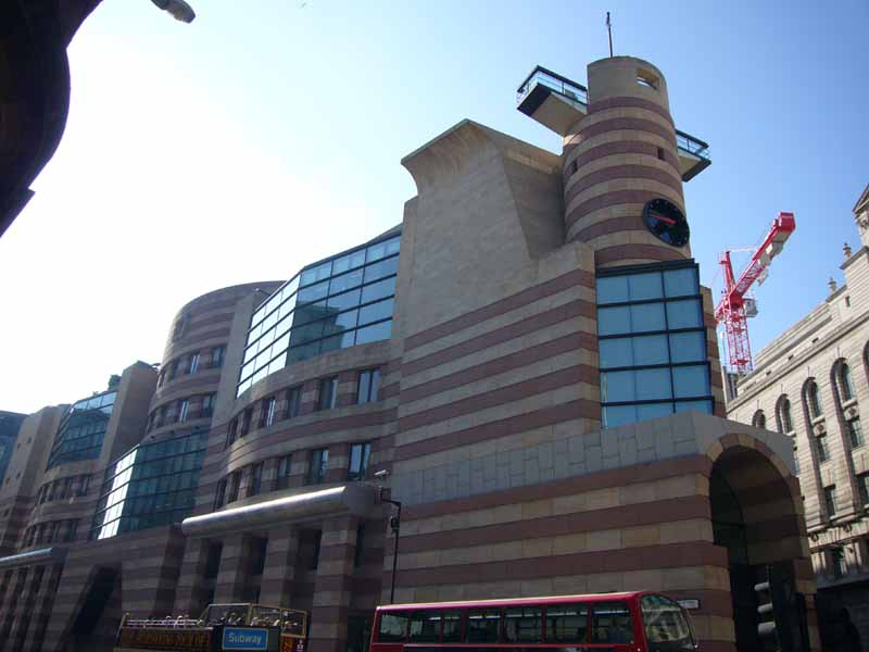 Modern Architecture Uk postmodern buildings in london: pomo architecture - e-architect