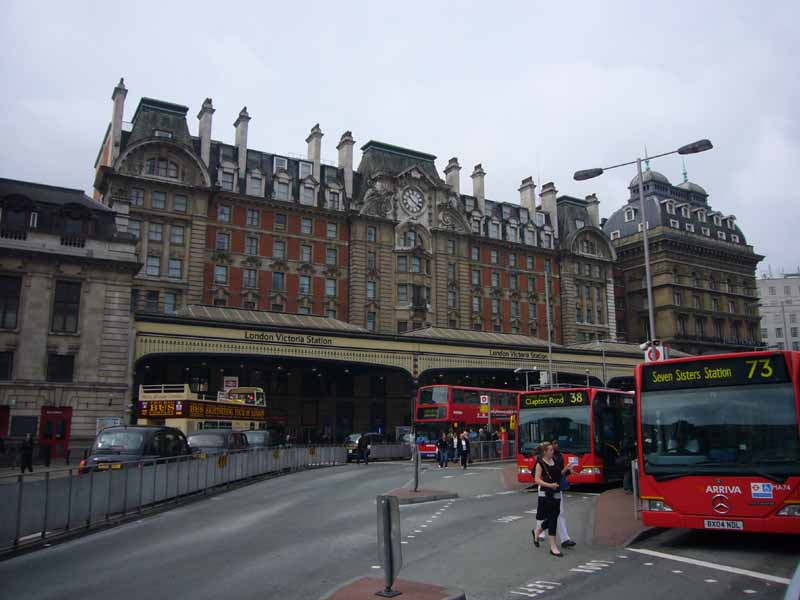 victoria station london buckingham palace road e architect. Black Bedroom Furniture Sets. Home Design Ideas