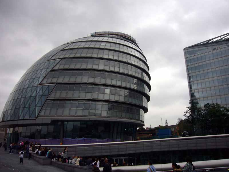 Architecture Buildings In London gla building london - city hall, architect - e-architect