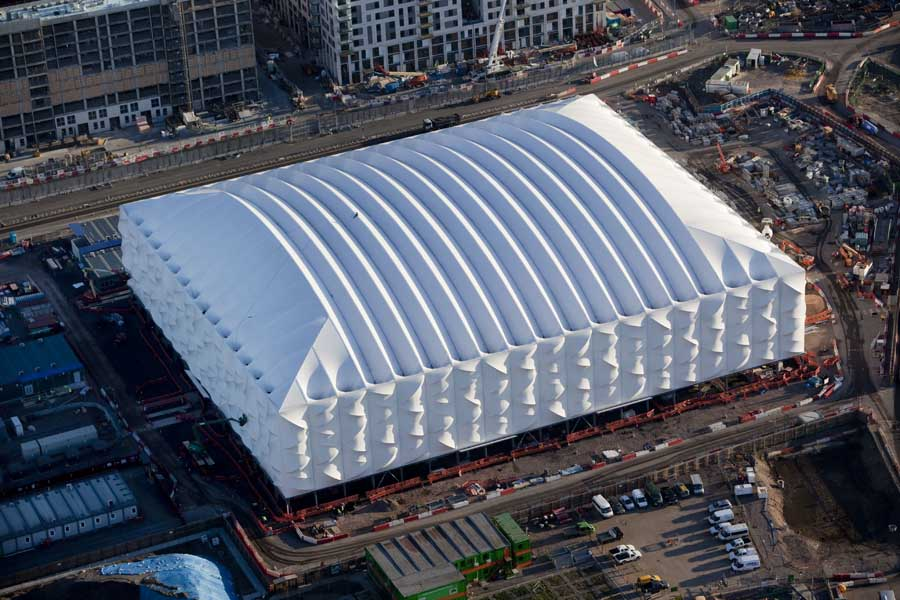 London Olympic Basketball Arena - e-architect
