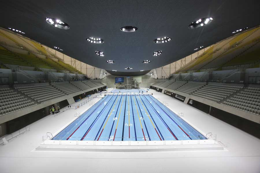 Beautiful Olympic Swimming Pool 2012 I In Inspiration