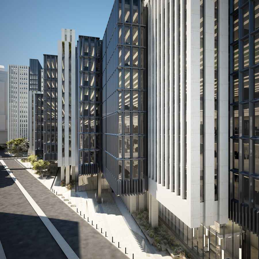 London Wall Place Office Development E Architect