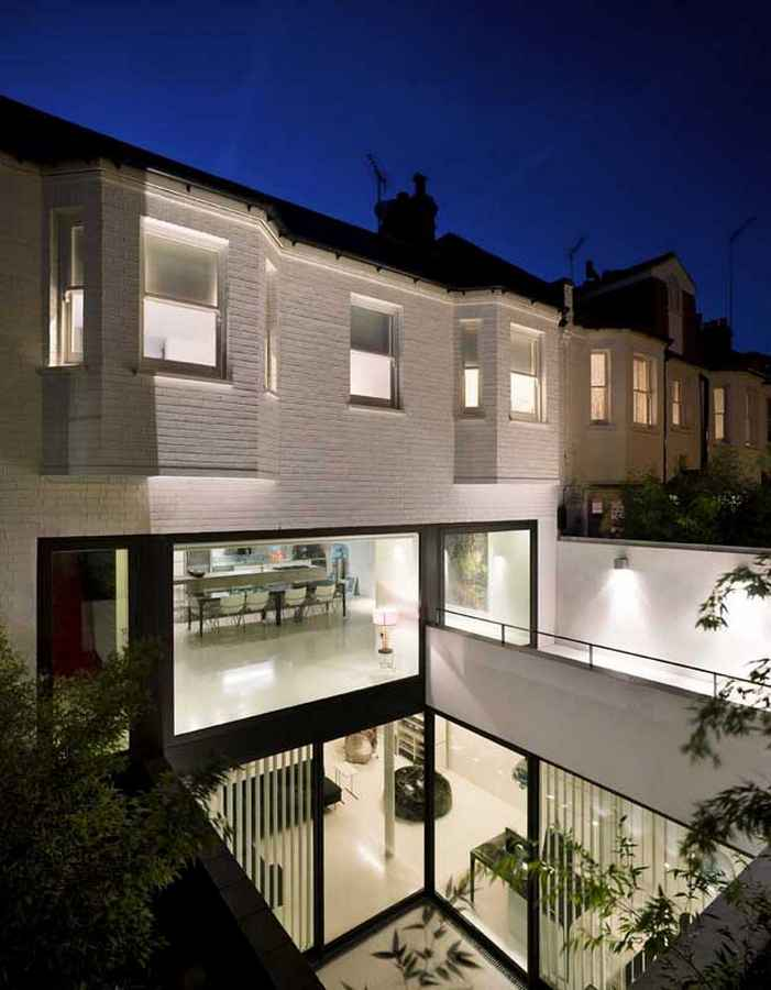 New home contemporary property design e architect for Modern house london