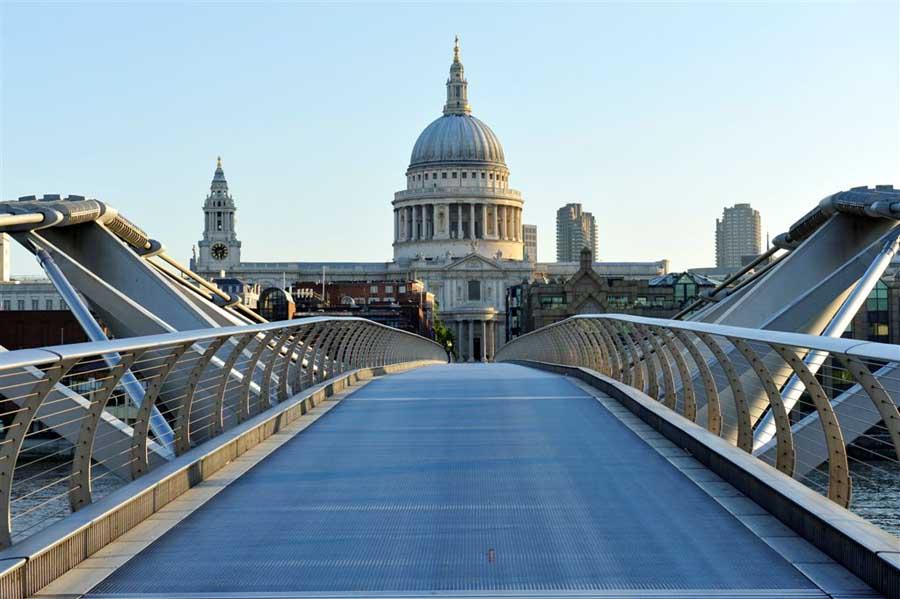 Image result for Millennium Bridge