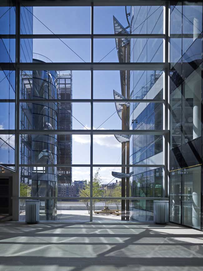 One Angel Lane Nomura European Headquarters E Architect