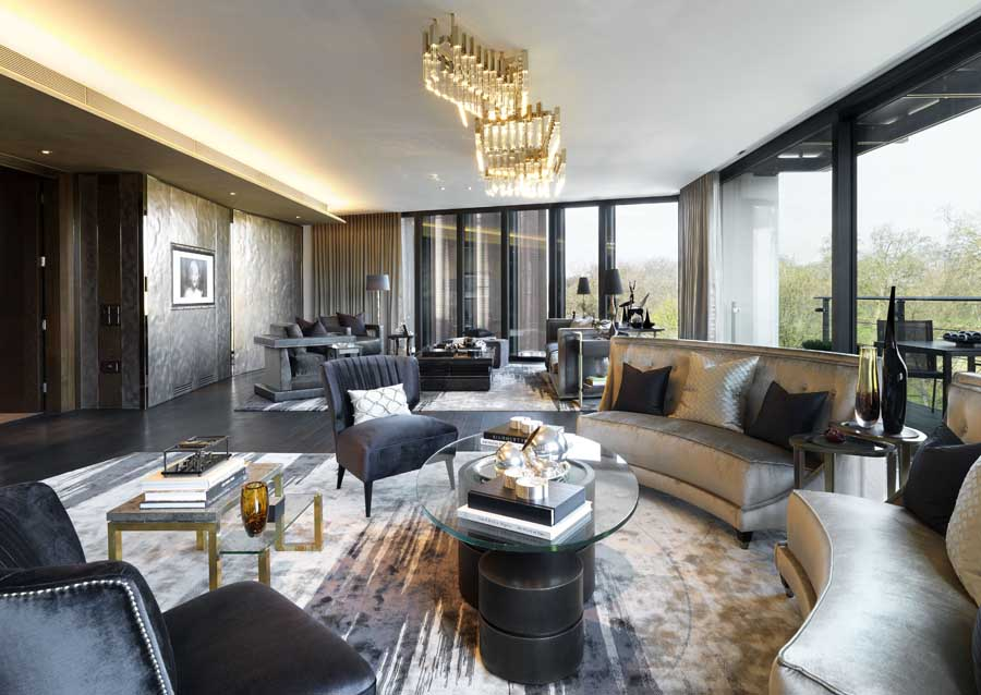 One hyde park knightsbridge flats e architect for Apartment number design