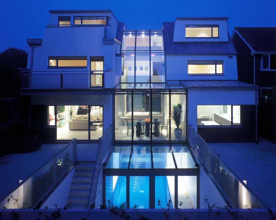 Fitzroy park house in north london e architect for Modern architecture house london
