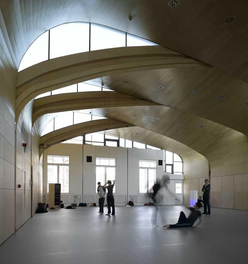 Siobhan Davies Studios Dance Studio London E Architect
